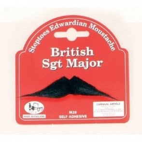 British Sgt Major Moustache