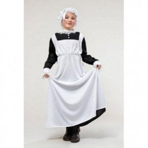 Fancy Dress Girls Victorian Maid Costume