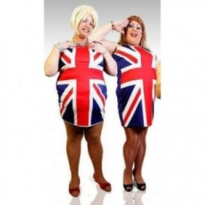 Mens Union Jack Spice Girls Fancy Dress