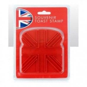 Union Jack Vinyl Toast Stamp