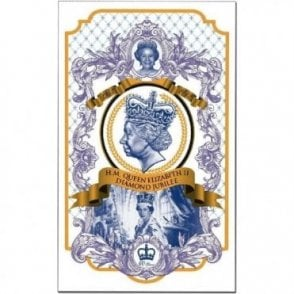 Diamond Jubilee/ Coronation  Tea Towel