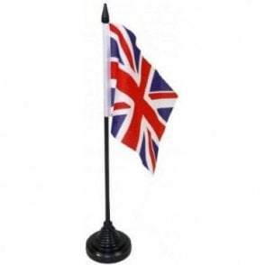 Union Jack Table Flags pack of 12