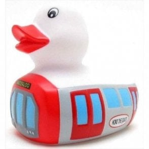 Underground London Tube Train Rubber Duck