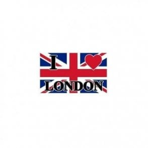 Union Jack I Love London Flag