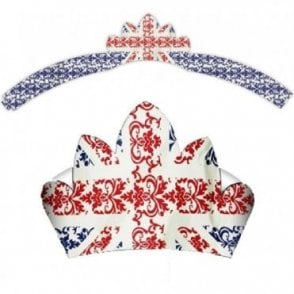 Union Jack Party Tiara Crown
