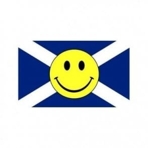 Scotland St Andrews Smiley Face 5' x 3' Flag