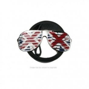 Union Jack Sunglasses Belt Buckle