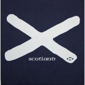 Scotland Saltire St Andrews Flag Adult T shirt
