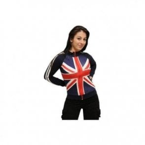 Union Jack Ladies Zipped Top