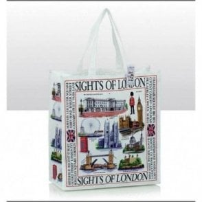 Sights of London Eco Shopping Bag