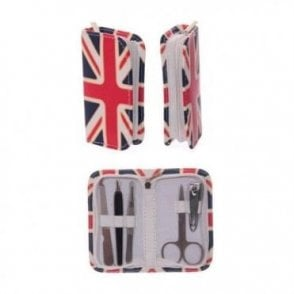 Union Jack Manicure Set