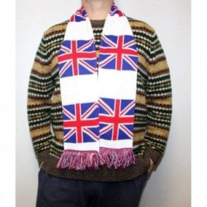 Union Jack Winter Scarf