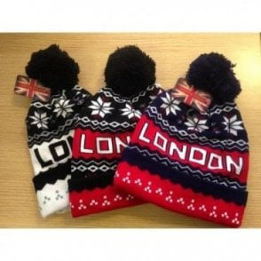 London Winter Pom Pom Beanie