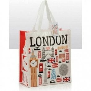Icons of London Shopping Souvenir Bag