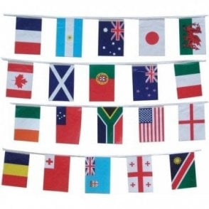 Rugby World Cup Bunting 2015