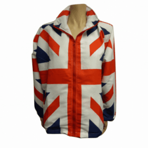 Mens Lightweight Union Jack Jacket / Coat