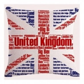Union Jack Icon Cushion Cover
