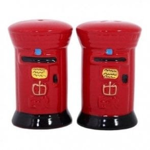 Post Box Salt and Pepper set
