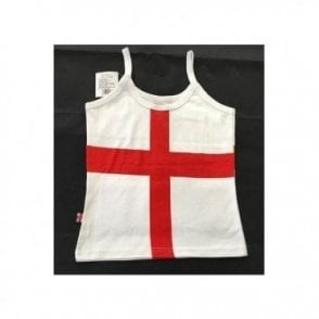 St George England Strappy Vest Top - Ladies