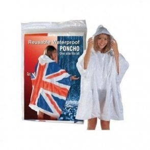 Union Jack Wear Union Jack Waterproof Poncho
