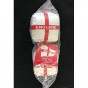 St George Flag England Car Dice - Fluffy dice without the fluff