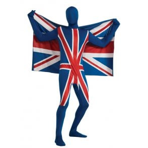 Union Jack Wear Union Jack Second Skin 'Tango Man' Suit 'Morph'