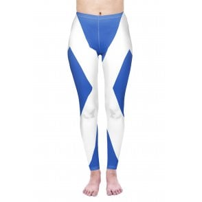 Union Jack Wear St Andrews Flag Leggings - Scotland Leggings