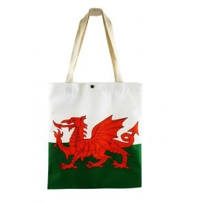 Union Jack Wear Wales Shopping Bag / Tote