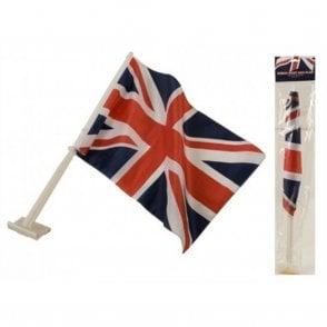 "Union Jack Wear Union Jack Car Flag 18"" x 12"" flag"