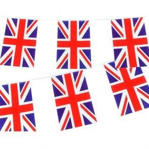 Union Jack Wear Union Jack Rectangular Bunting 10m