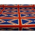 Union Jack Printed Cotton Fabric