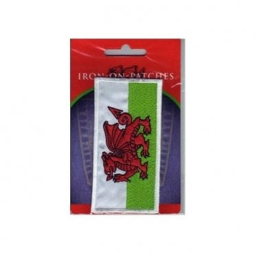 Welsh Dragon Embroidered patch