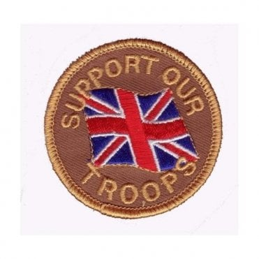 Support Our Troops Embroided Patch