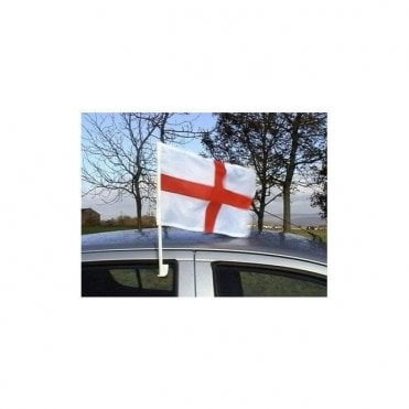 "St George England Car Flag. 17"" x 11"""