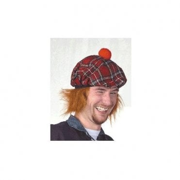See You Jimmy hat - Tartan with ginger hair