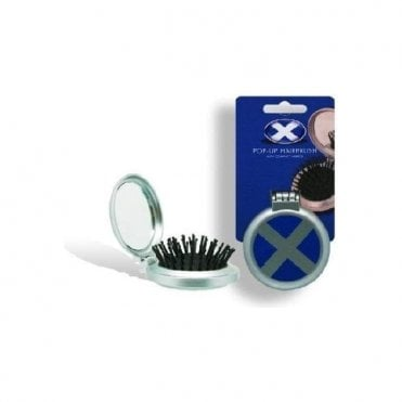 Saltire Flag Hairbrush. Scotland flag hairbrush