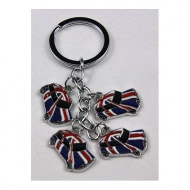 Union Jack Classic Mini keyring