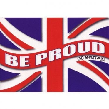 Be Proud - Go Britain Union Jack Sticker