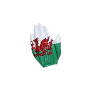 Wales Flag Inflatable hand