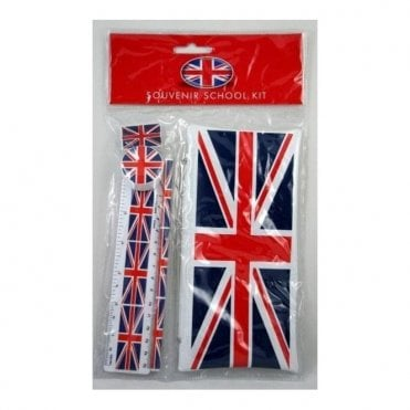 Union Jack School Kit & Free Union Jack Pen - Back to School