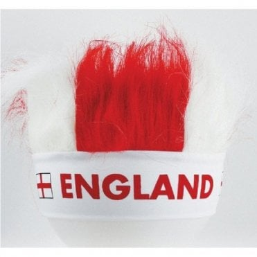 England St George Crazy Hair