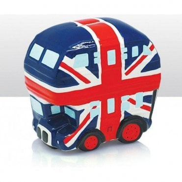Union Jack Bus Money Box