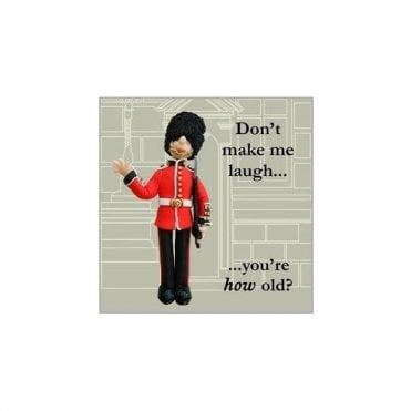 British Guard Birthday Card