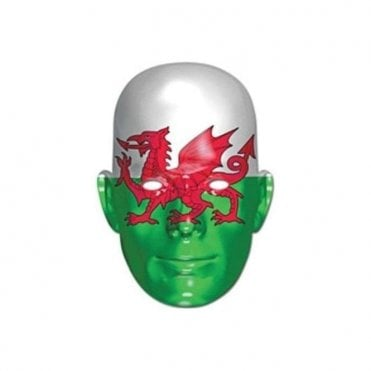 Wales Flag Party Mask