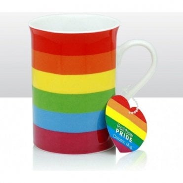 Gay Pride Rainbow Mug