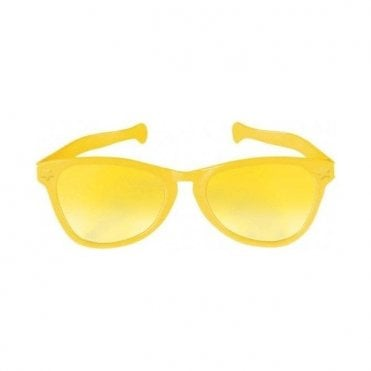 Fancy Dress Yellow Jumbo Sunglasses
