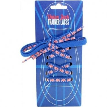 Union Jack Trainer Laces 2Pk