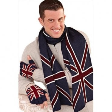 Men's Union Jack Scarf