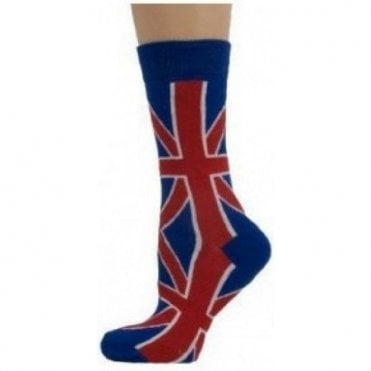 Ladies Union Jack Socks