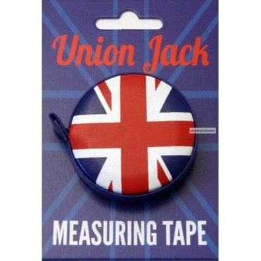 Union Jack Measuring Tape